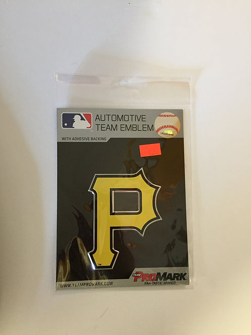 Pittsburgh Pirates, Automotive Yellow Emblem