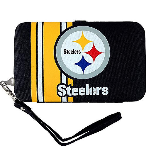 Pittsburgh Steelers Shell Wristlet