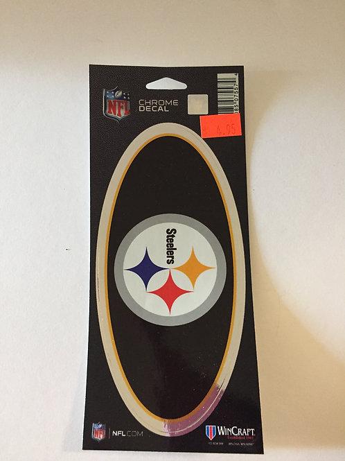 Pittsburgh Steelers Chrome Decal