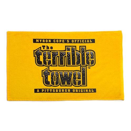 Pittsburgh Steelers Bling Gold - Terrible Towel