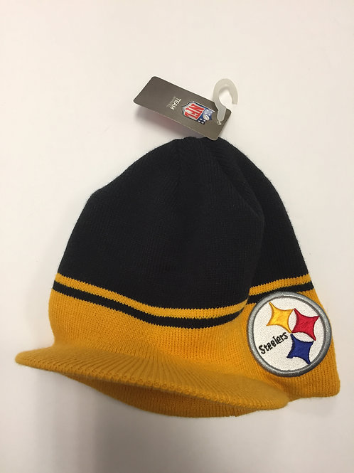 Pittsburgh Steelers Hard Bill Beanie
