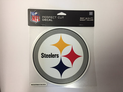 "Pittsburgh Steelers 7""x7"" Perfect Cut Decal"