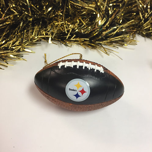 Pittsburgh Steelers Football Ornament