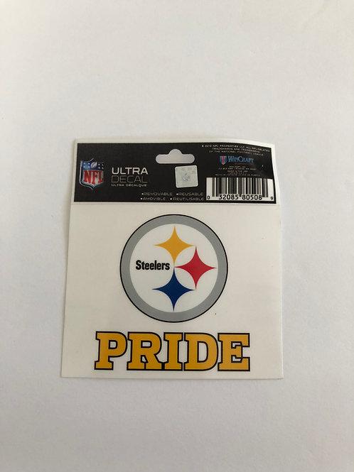 Pittsburgh Steelers 'Pride' Ultra Decal