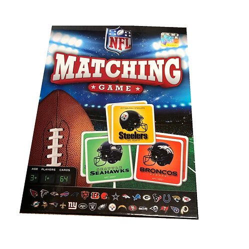 NFL Matching Card Game