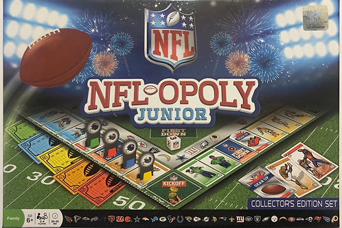 NFL-OPOLY Junior Collector's Edition Set