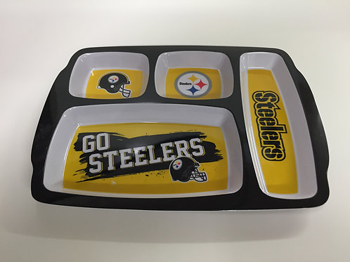 Pittsburgh Steelers Kids Plastic Dinner Plate