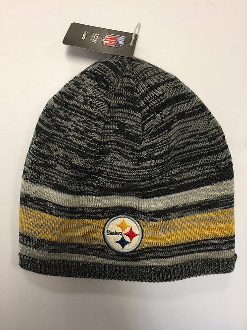 Pittsburgh Steelers Gray Beanie Hat