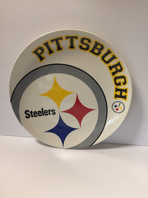 Ceramic Pittsburgh Steelers Plate