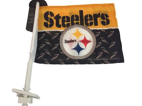 Pittsburgh Steelers Steel Design Truck Flag