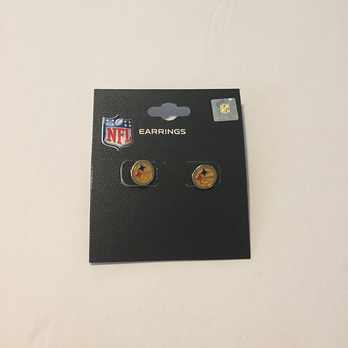 Pittsburgh Steelers Small Emblem Studs