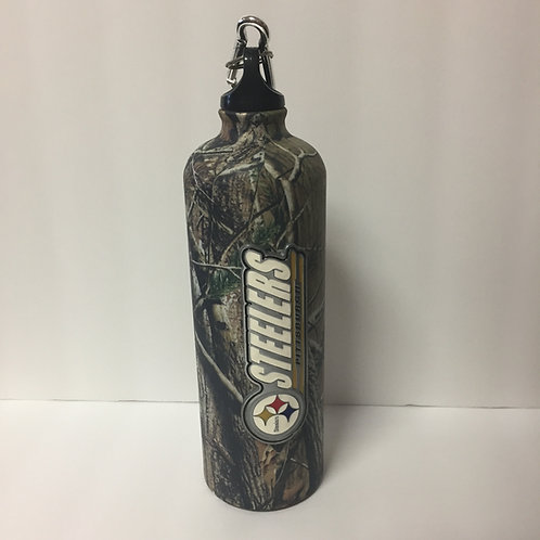 Pittsburgh Steelers Camo Travel Bottle
