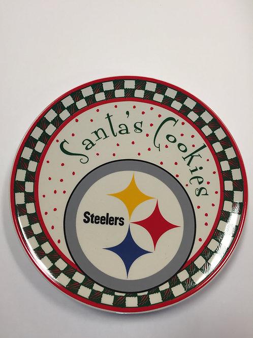 Santa's Cooking, Steelers Plate