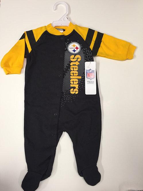 Pittsburgh Steelers, 0-3M Gold Stripe Onesie