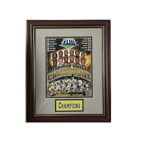 Pittsburgh Steelers Super Bowl 43 Framed Picture