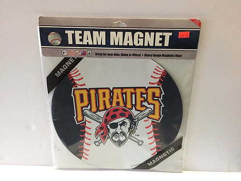 Pittsburgh Pirates Team Magnet