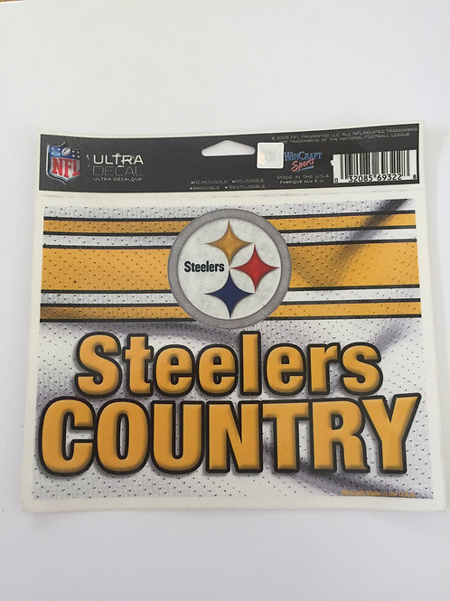 Pittsburgh Steelers 'Country' Decal