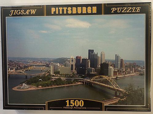 Pittsburgh City Puzzle 1500pcs