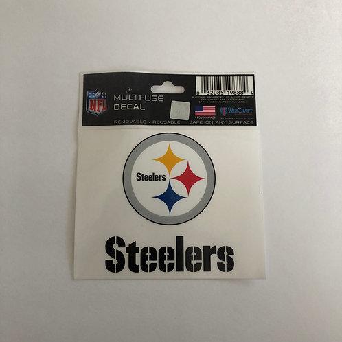 Pittsburgh Steelers Multi-Use Emblem & Team Name Decal