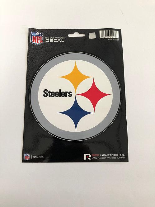 Pittsburgh Steelers Die-Cut Window Emblem Decal