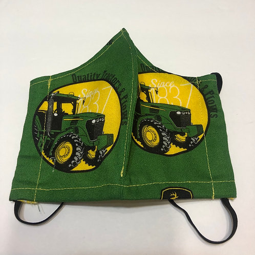 John Deere Face Masks (Individually Hand Made In The USA)