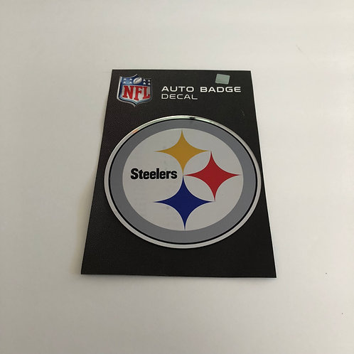Pittsburgh Steelers Emblem Auto Badge Decal