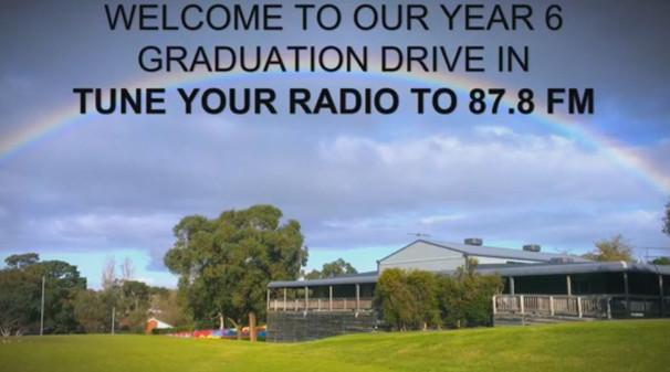 Year 6 Graduation Drive In 2020