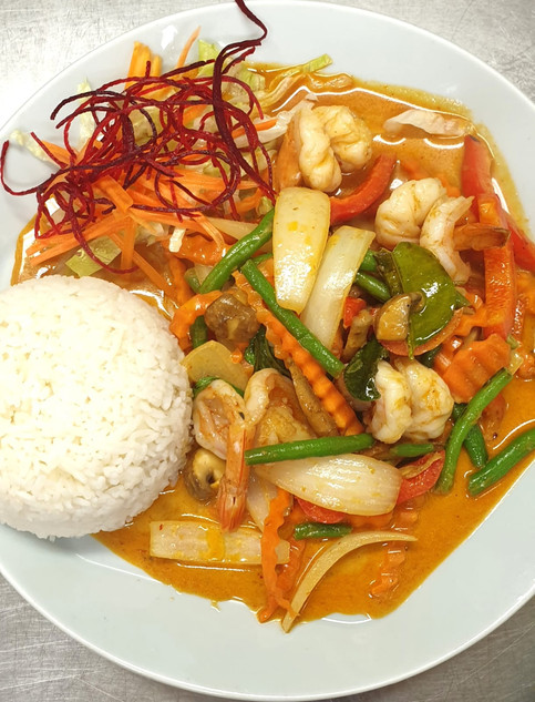 Prawn_Pad_Prik_Gang_Siam_River_Thai_Nort