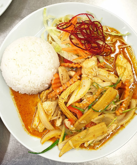 Chicken_Pad_Nam_Prik_Pow_Siam_River_Thai