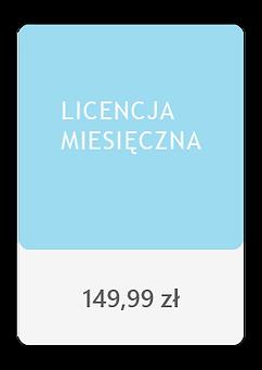 Cena licencji miesięcznej Parrot