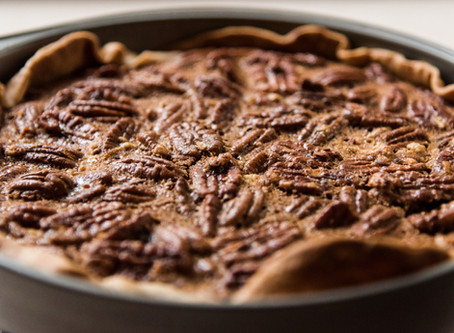Healthy Thanksgiving Pecan Pie - Dairy Free!
