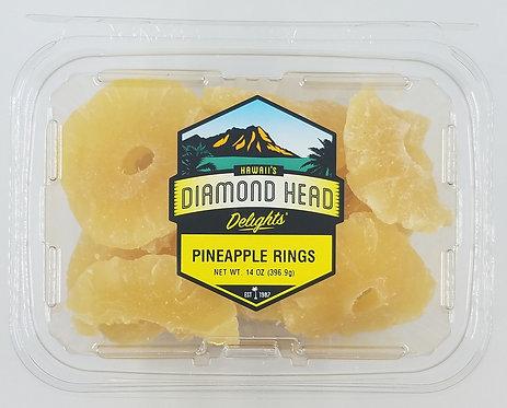 Pineapple Rings, Dried