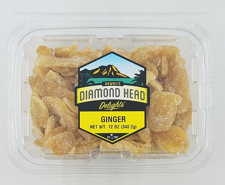 Ginger Slices, Dried