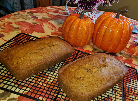 2-Loaf Zucchini Cranberry Bread (Dairy-Free)
