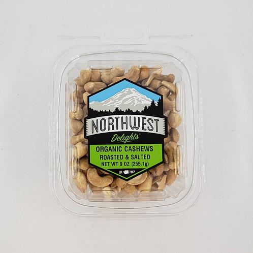 Organic Cashews – Roasted & Salted