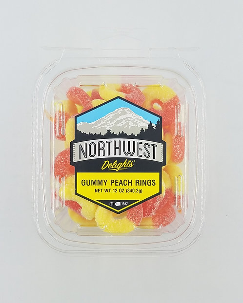 Gummy Peach Rings