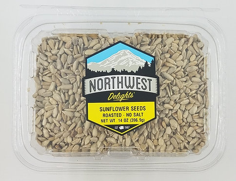 Sunflower Seeds – Oil Roasted, No Salt