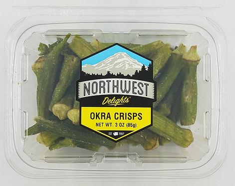 Okra Crisps, Dried