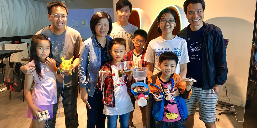 Creative Robot Making Workshop (Jan 27 4:45PM-6:30PM, Prince Edward)