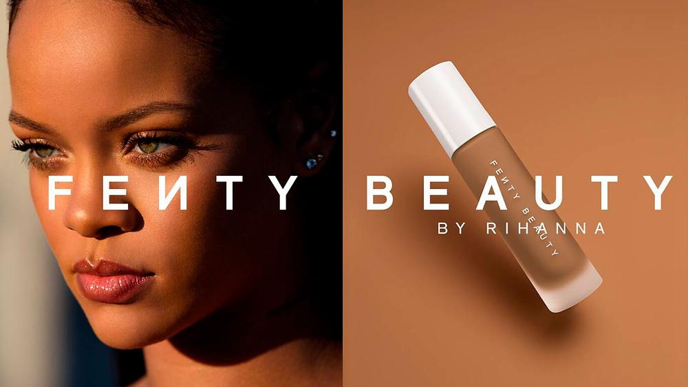 Imagem de divulgação da marca Fenty Beauty
