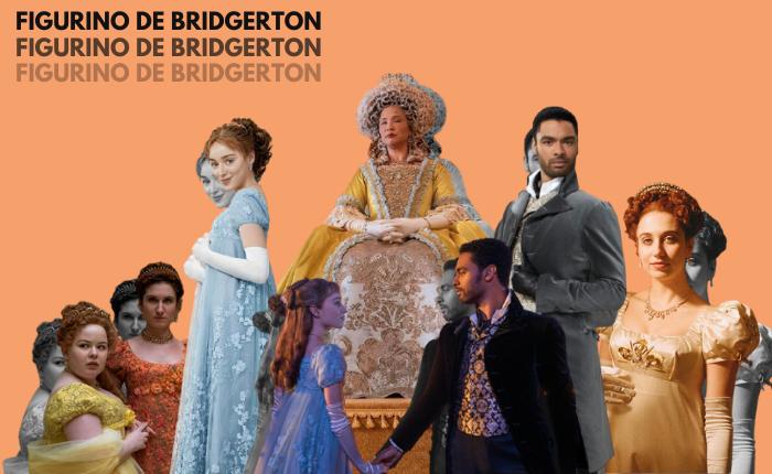 Figurino de Bridgerton