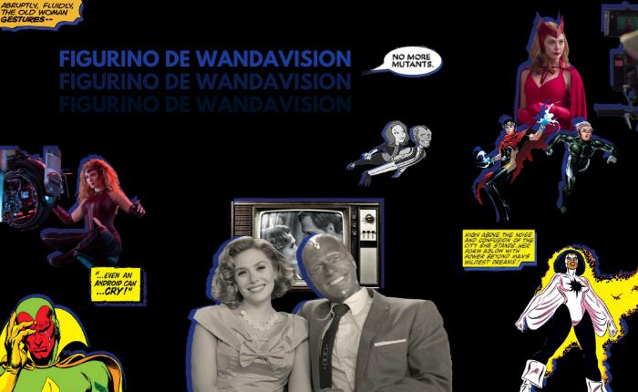 Figurino de WandaVision