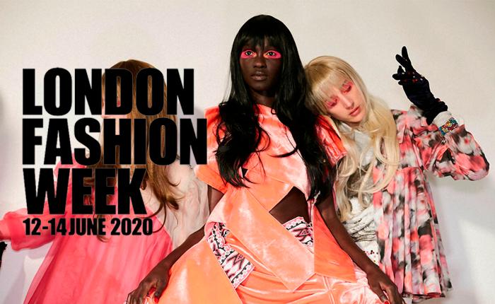 Semana de Moda de Londres + outros eventos de moda virtuais