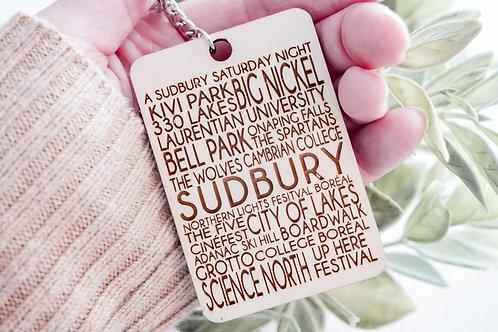 Sudbury Keychain