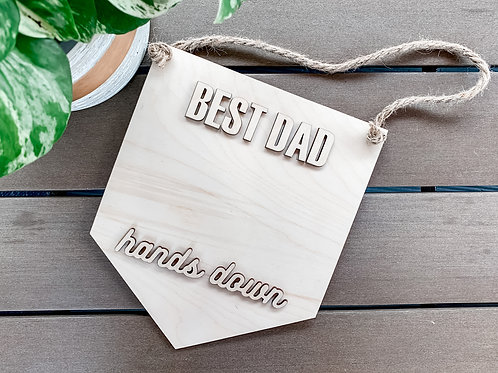 DIY Father's Day Sign