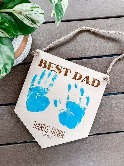 Personalized Father's Day Sign