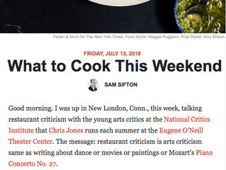 """New London gets a """"shout out"""" in NYTimes"""
