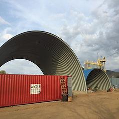 hangar cemento vallenato la paz colombia medellin barranquilla bogota medellin arco techo teja sin estructura