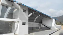 cubierta autoportante lavadero y taller colombia