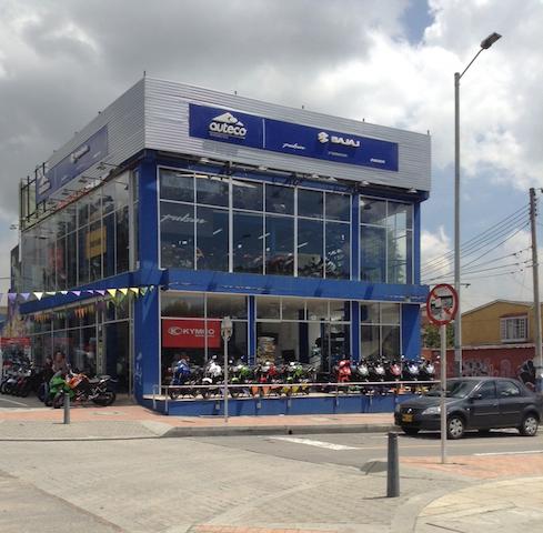 concesionario Auteco Bogota 2